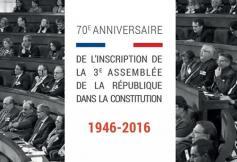 70ème anniversaire de l'inscription du Conseil économique dans la Constitution en présence de François Hollande