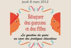 Eduquer des garçons et des filles - 8 mars