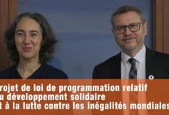 """Le CESE a adopté son avis sur """"Projet de loi de programmation relatif à la Politique de développement solidaire et de lutte contre les inégalités mondiales"""""""