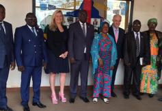 Visite de la délégation du CESE au CES de République centrafricaine