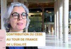 Le CESE a adopté sa contribution au Tour de France de l'égalité