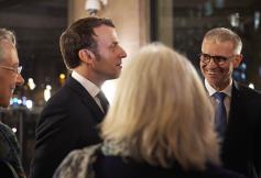Le Président de la République Emmanuel Macron réaffirme sa volonté de réformer le CESE