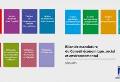 Bilan de la mandature 2010-2015 du CESE