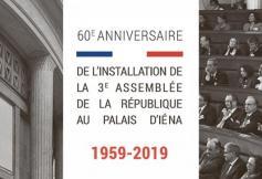 60ème anniversaire de l'installation du Conseil économique au Palais d'Iéna