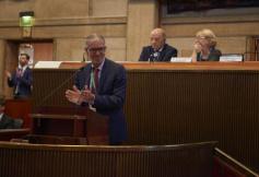 Discours du Président Bernasconi - Assemblée générale de l'AICESIS