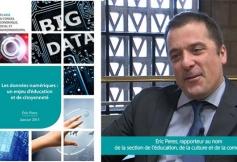 Le CESE s'est prononcé sur les données numériques : un enjeu d'éducation et de citoyenneté