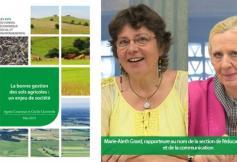 Le CESE s'est prononcé sur la bonne gestion des sols agricoles