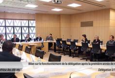 Compte-rendu de la réunion de la délégation à l'Outre-mer du mardi 10 janvier 2012