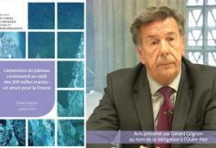 Le CESE se prononce sur l'extension du plateau continental français