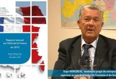 """Le CESE a rendu son """"rapport annuel sur l'état de la France en 2012"""""""