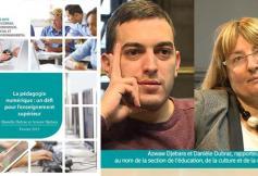 Le CESE a rendu ses préconisations sur la pédagogie numérique : un défi pour l'enseignement supérieur
