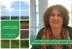 Le CESE a voté un avis sur la gestion et l'usage de l'eau en agriculture
