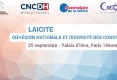 """Colloque """"Laïcité : cohésion nationale et diversité des convictions"""""""