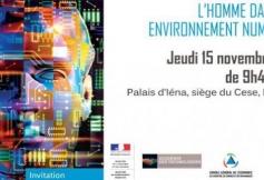 """Actes du colloque """"L'homme dans son environnement numérique"""""""