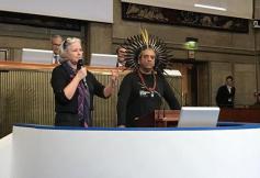 Des responsables autochtones Brésiliens d'Amazonie reçus au CESE