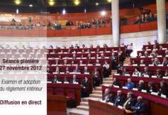 Examen et vote du projet de règlement intérieur du CESE