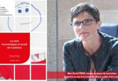 Saisi par le Parlement, le CESE s'est exprimé sur le coût économique et social de l'autisme