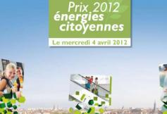« Prix Energies Citoyennes » - 4 avril