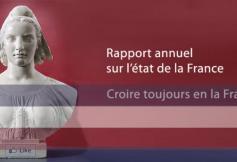 Rapport annuel sur l'état de la France en 2016 - Croire toujours en la France