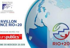 Programme du Pavillon France le 20 juin
