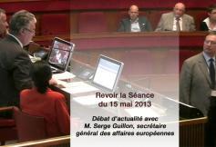 Revoir le Débat d'actualité avec M. Serge Guillon