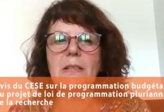 Le CESE a adopté son avis sur la programmation pluriannuelle de la recherche