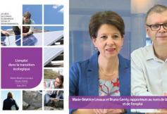 Le CESE a rendu ses préconisations sur l'emploi dans la transition écologique