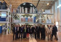 Déplacement d'une délégation de la section des activités économiques à Saint-Nazaire et Nantes