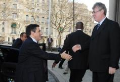Visite de François Fillon lors de la plénière du 22 février 2011