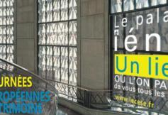 Le Palais d'Iéna ouvre ses portes pendant les journées européennes du patrimoine