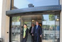 Visite d'Aung San Suu Kyi au CESE en images
