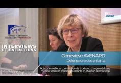 Geneviève AVENARD (Défenseure des enfants) - enfants en situation de handicap