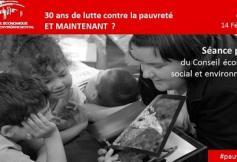 30 ans de lutte contre la pauvreté, et maintenant ?