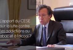 Questions à Patrick LEFAS (Cour des Comptes) - addictions au tabac et à l'alcool
