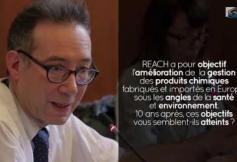 Questions à Mathieu SCHULER (ANSES) - Bilan de REACH