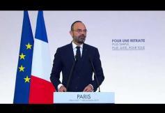 Système universel des retraites - Allocution du Premier ministre, Edouard Philippe
