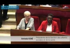 Vieillir dans la dignité : Séance plénière du CESE du 24 avril 2018