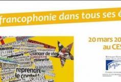 LA FRANCOPHONIE DANS TOUS SES ETATS AU CESE