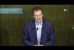 Séance sur la politique européenne de transport maritime au regard des enjeux de développement durable