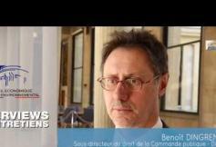 Questions à Benoît DINGREMONT - Commande publique