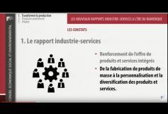 Séance du 13-10-2015 : Les nouveaux rapports industrie-services à l'ère du numérique