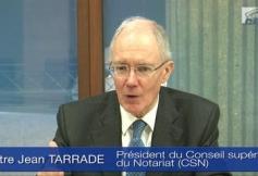 Audition de Maître Jean TARRADE (CSN)