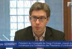 Audition de M. François GERMINET, Président de l'Université de Cergy-Pontoise
