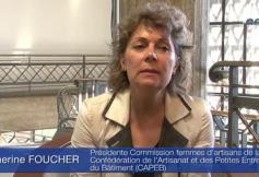 Audition de Catherine FOUCHER, et Agnès HAUTIN (CAPEB)