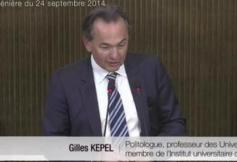 """Revoir l'intervention de Gilles Kepel """"L'islam de France : entre la crise des banlieues et les conflits du Moyen-Orient"""""""