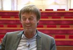 3 questions à Nicolas HULOT, Président fondateur de la Fondation Nicolas HULOT pour la Nature et l'Homme