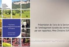 Le CESE a rendu ses préconisations sur le tourisme et le développement durable en France