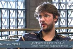 Questions Matthieu Cisel, Doctorant sur les MOOCs