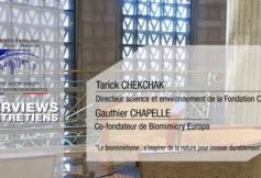 3 questions à Tarick CHEKCHAK et Gauthier CHAPELLE (Biomimicry Europa)