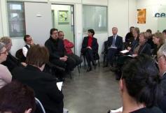 Rencontre avec des professionnels de l'action sociale de Seine St Denis (93)